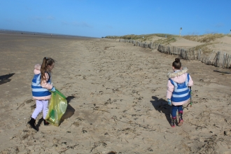 crosby beach clean