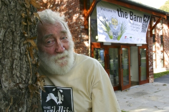 David Bellamy at the opening of The Barn - the Lancashire Wildlife Trust headquarters
