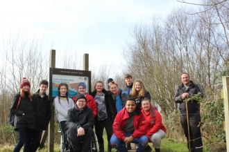 Youth Council at Little Woolden Moss
