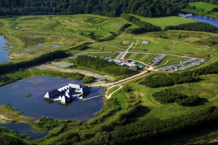 Brockholes Ariel View