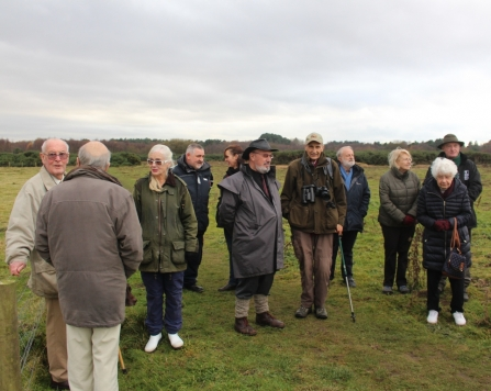 Crowds at Freshfield Dune Heath Nature Reserve