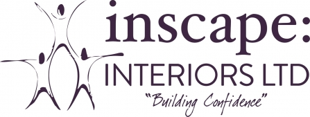 The logo of Inscape: Interiors Ltd, a Lancashire Wildlife Trust Bronze member