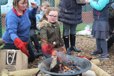 forest school fire