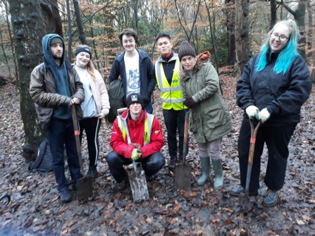 100 trees planted in Astley Park