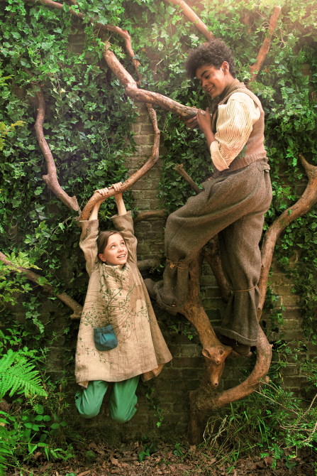 Dixie Egerickx and Amir Wilson in the 2020 adaptation of The Secret Garden