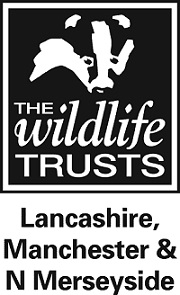 The logo of the Wildlife Trust for Lancashire, Manchester and North Merseyside